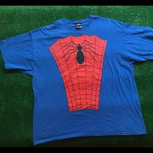 Vintage Marvel Mad Engine Spider-Man t-shirt 2XL